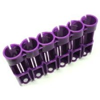 18650 Battery Caddy (Purple) 6 Bay