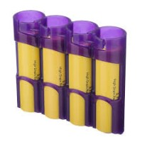 18650 Battery Caddy (Purple) 4 Bay