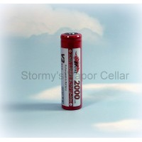Efest IMR 18650 V2 2000mah with button top